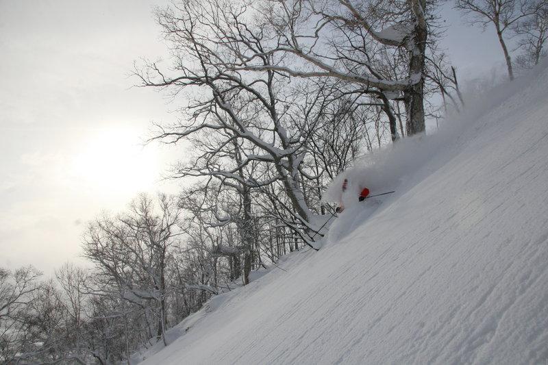 Non-stop ski action