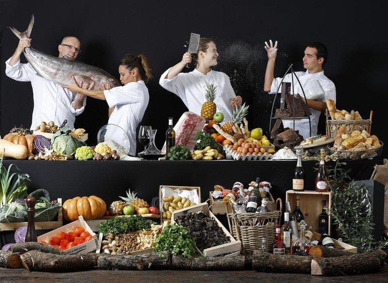 La Table Du Pigonnet - The Team
