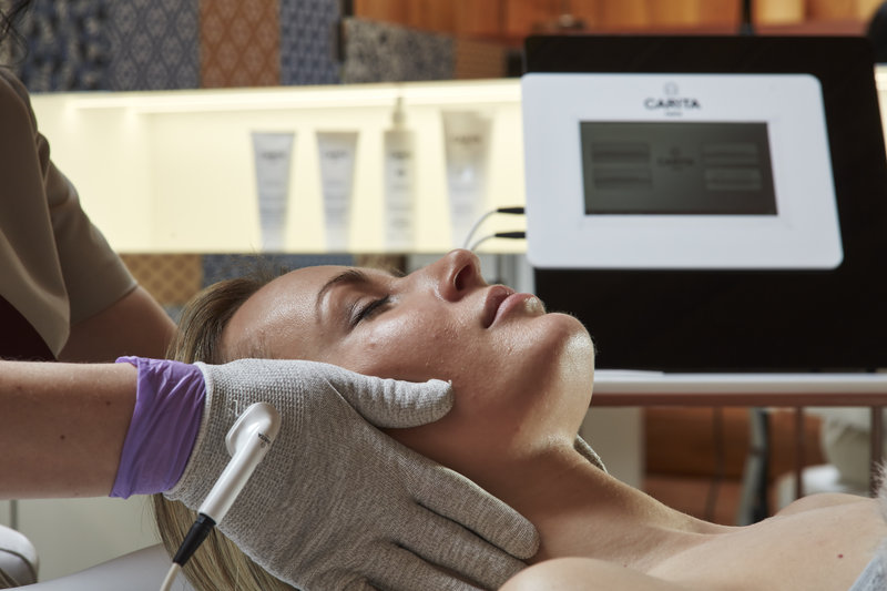 Treatments Using The Carita Device