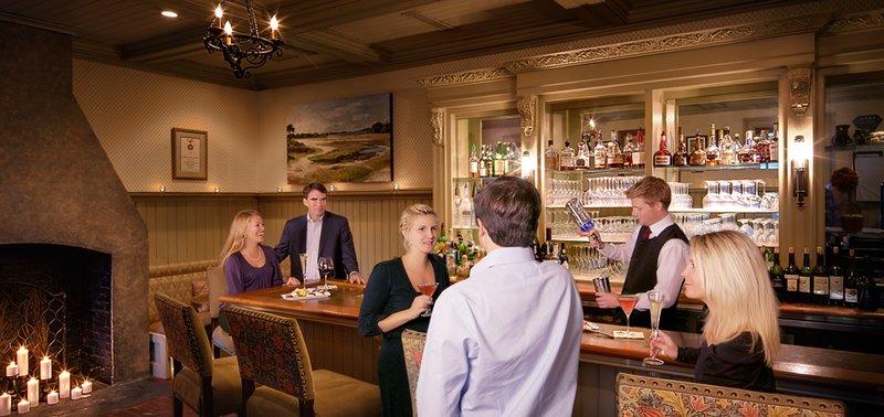 Cozy Bar inside Circa 1886 Restaurant