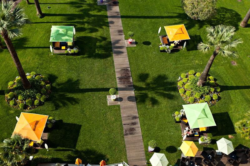 Panoramic Garden View