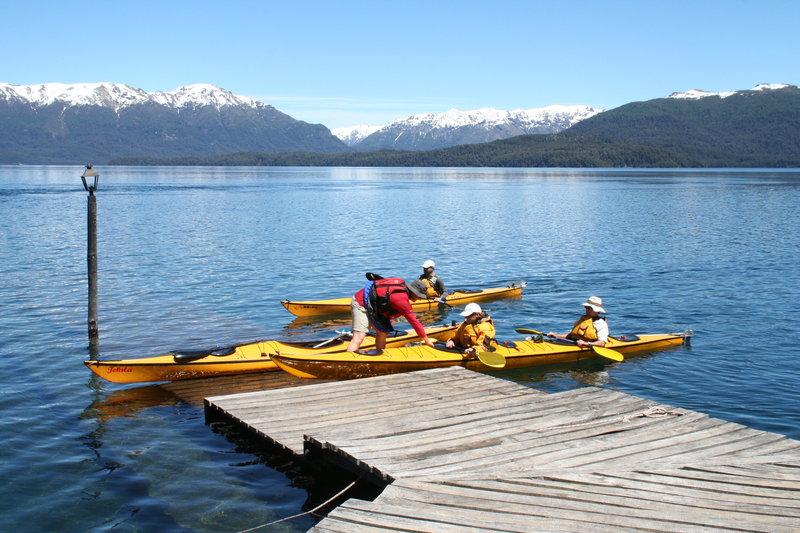 Kayak Muelle