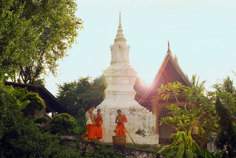 UNESCO heritage city of Luang Prabang