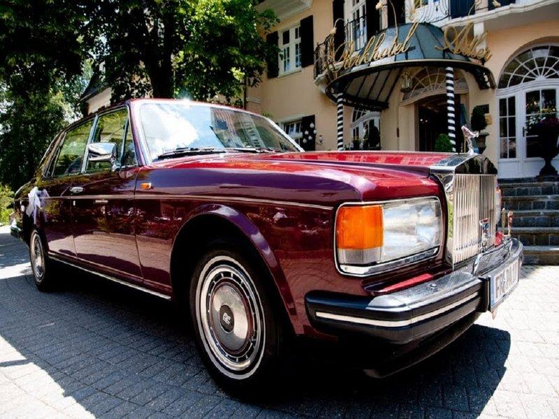Rolls Royce at Parkhotel Adler