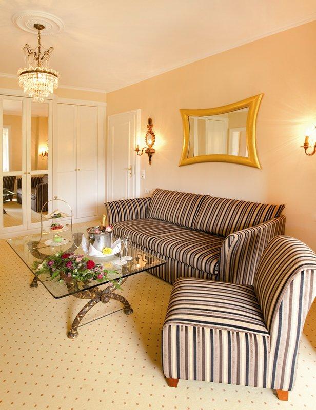 Presidental Suite Living Area