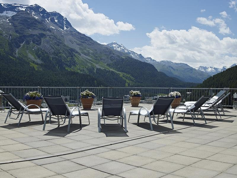 Set against a breathtaking mountain backdrop