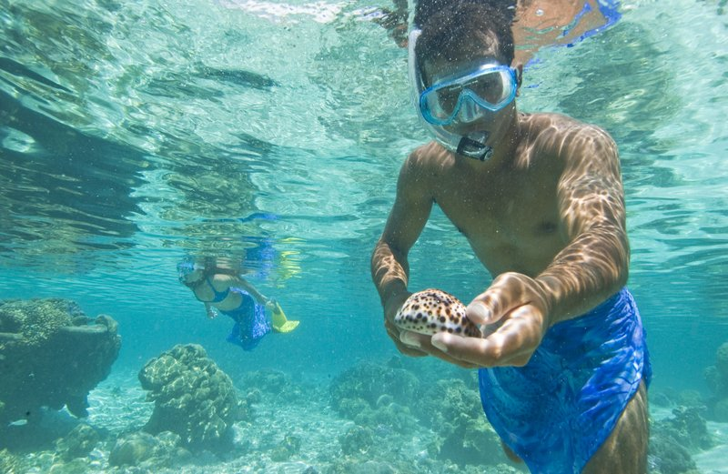magnificent spots for snorkeling