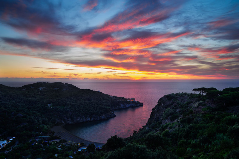 Ischia's Sunset