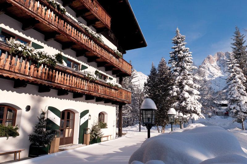 Hotel Exterior Winter