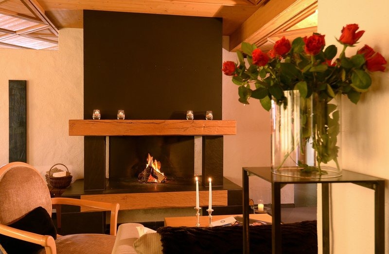 Open plan fireplace