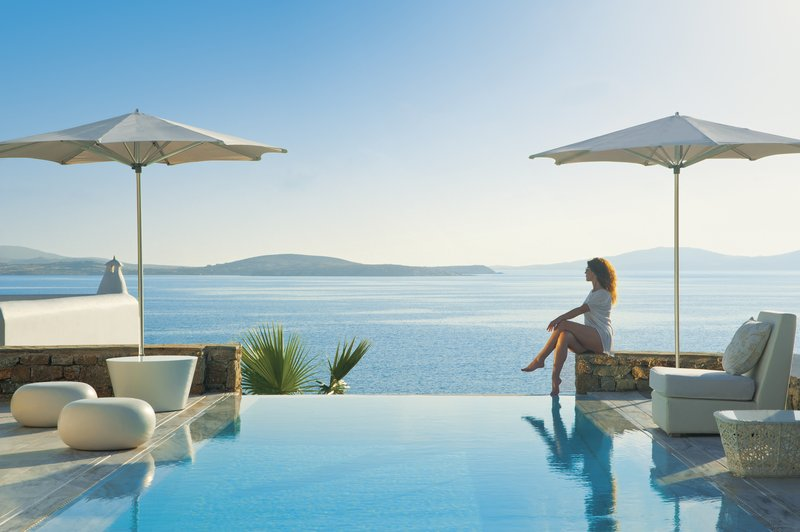 The Aegean sea views from Grand Suite