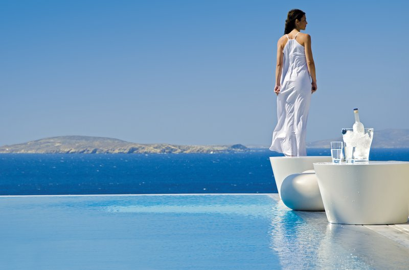 Let your worries go with Mykonos wind