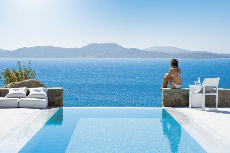 Grand Suite Private Pool - Delos Island Views