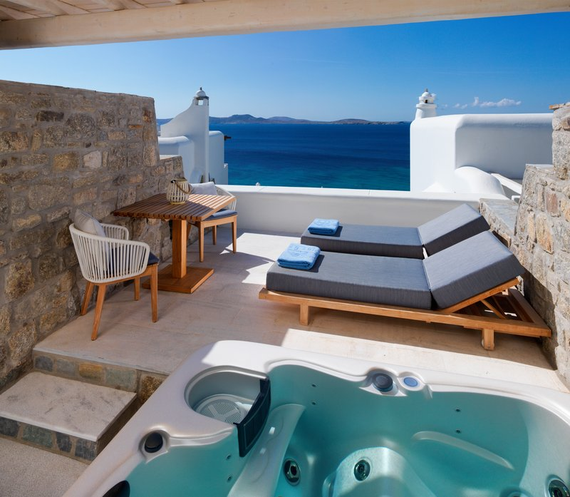 Premium sea view Jacuzzi Room