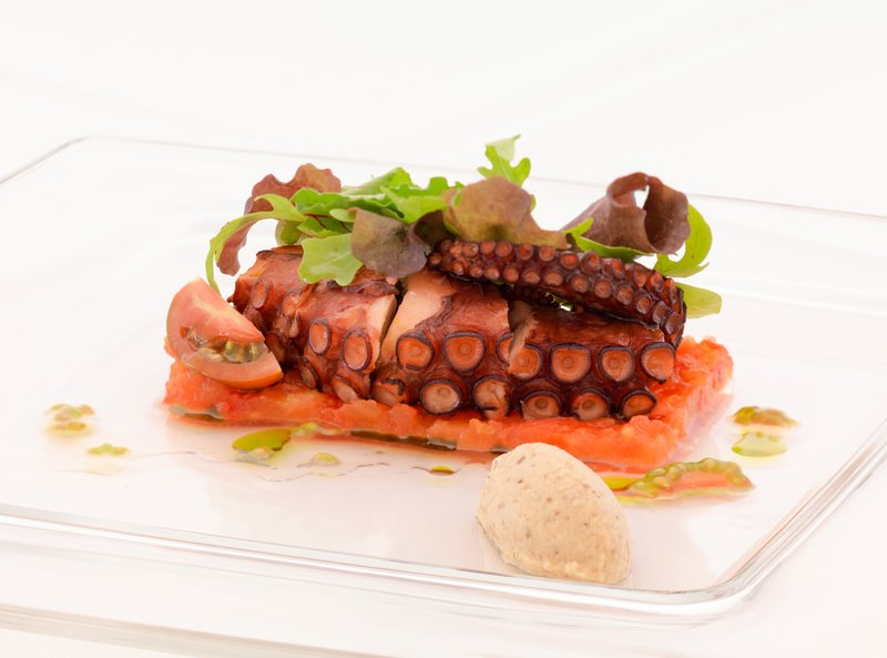 Greek Cuisine octopus starter
