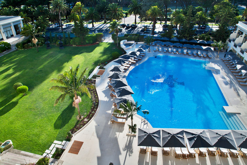 Pool view aerial