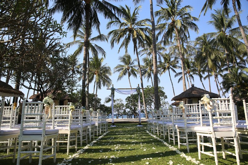 A perfect wedding location