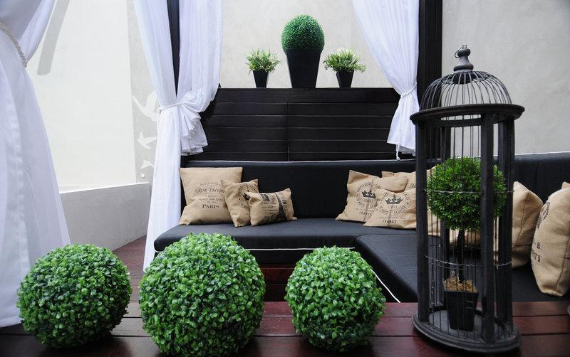 Relaxing patio gazebo