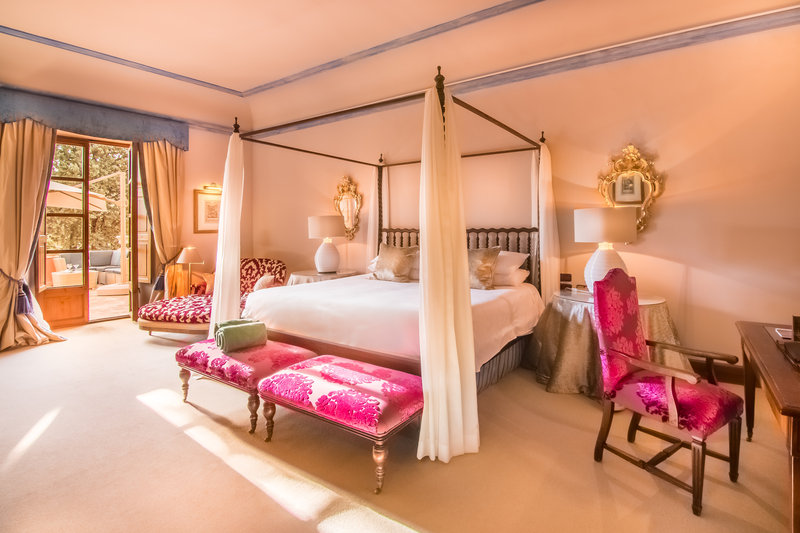 Royal Suite Bedroom with private terrace