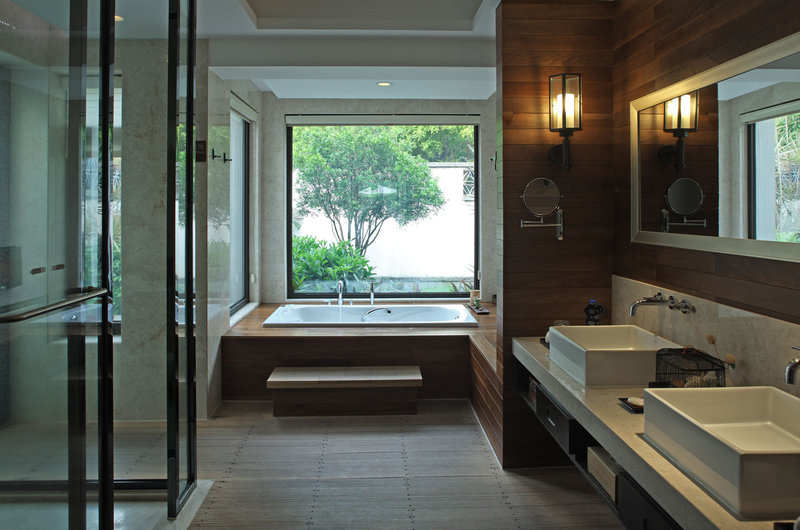 The Bathroom Floating Clouds Villa