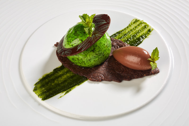 Mint-Chocolate - Sweet Chocolate Paste, creamy « Macaé »