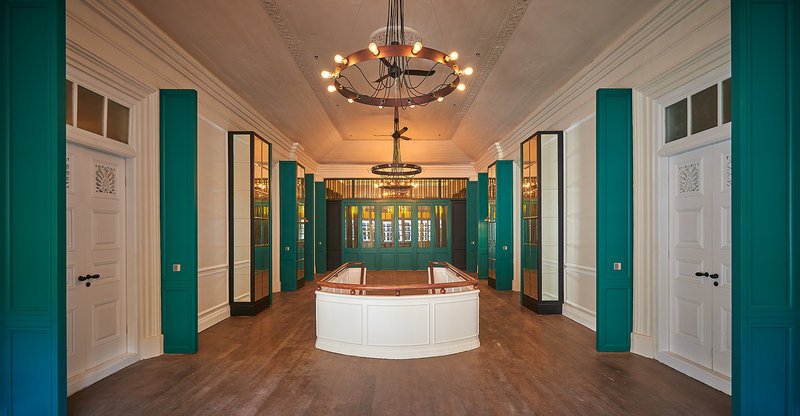 The Edison - Corridor