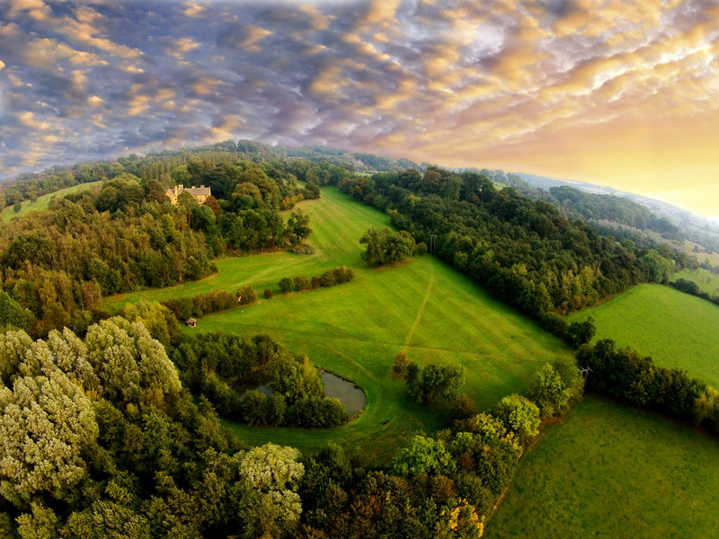 Foxhill Manor Aerial