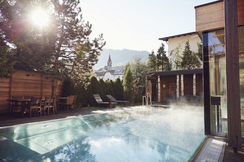 Heated Pool Winter