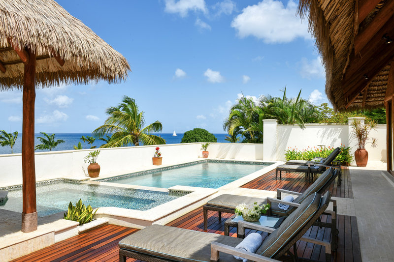 The 4-bed ocean view villa with private pool