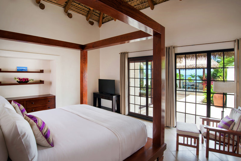 The king suite in our 4-bed villas