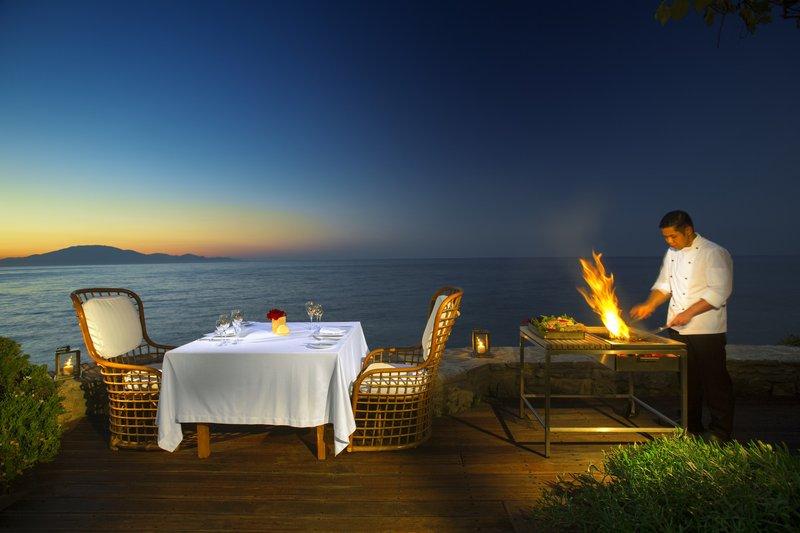 Porto Zante Private Dining with Sea View