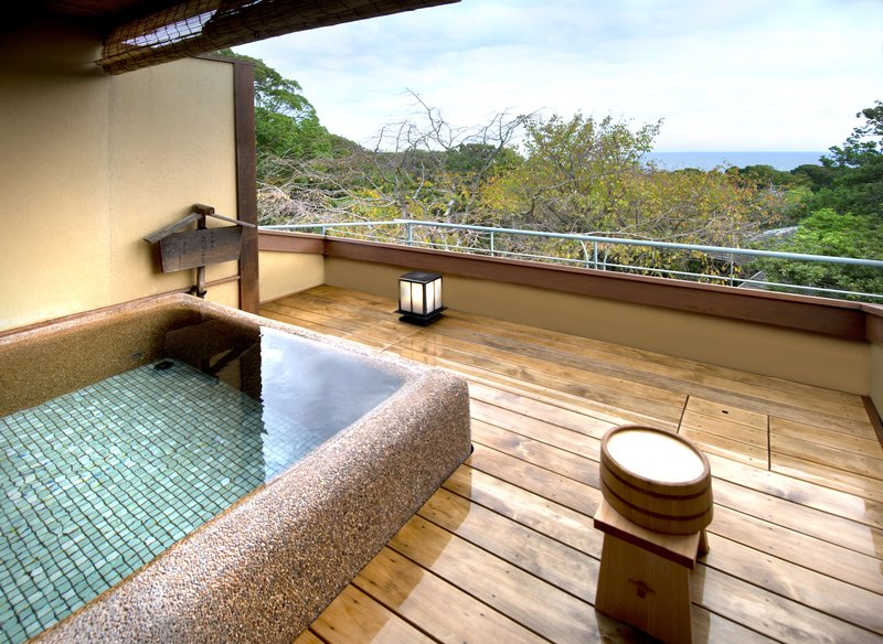 Roof Top Private Hot Spring bath