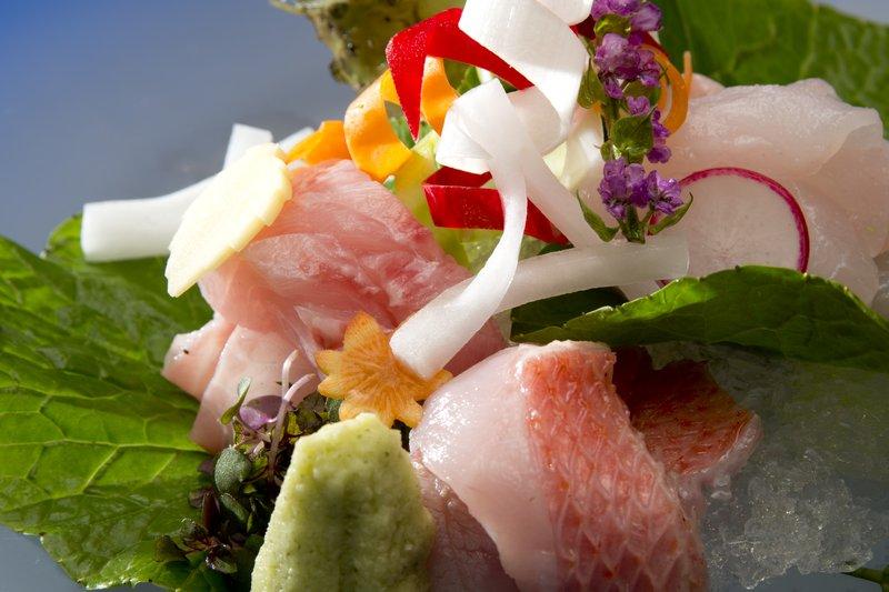 """Japanese cuisine- """"Kinme"""" brand Sashimi at Sakura"""