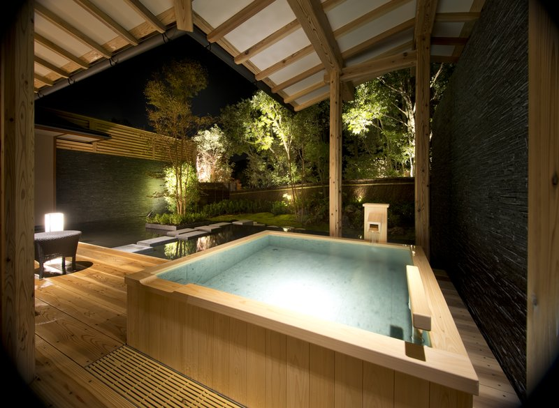 Private Hot Spring bath of Villa Suite