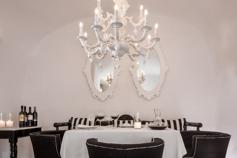 Dining at Canaves Oia Suites