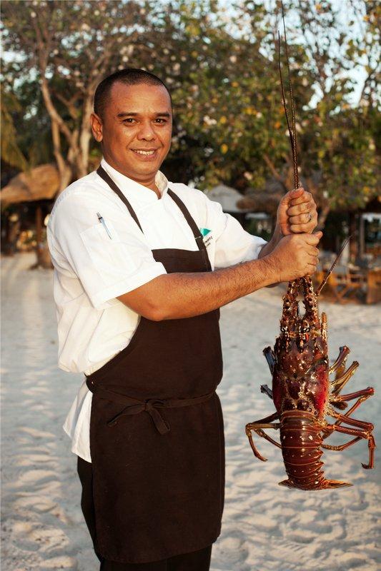 Beach Restaurant's Lobster Pool