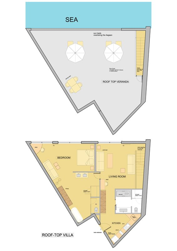 Rooftop Villa Floor Plan