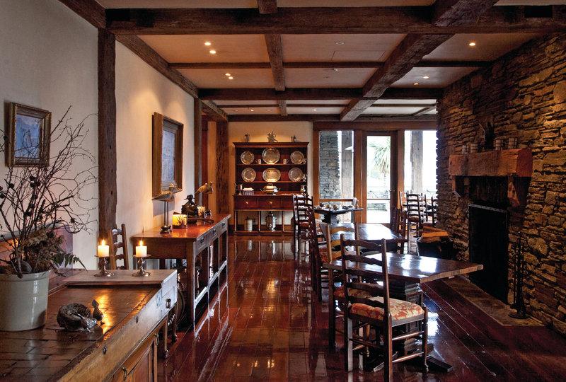 Blanket Bay Long Dining Room