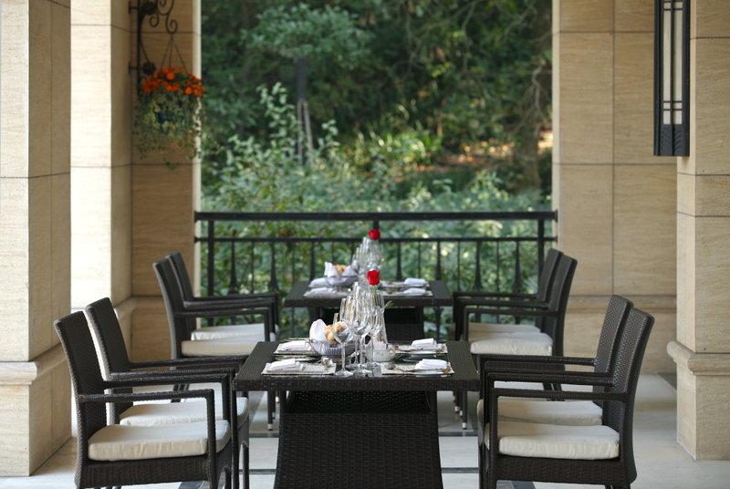 British Bar Outdoor Deck