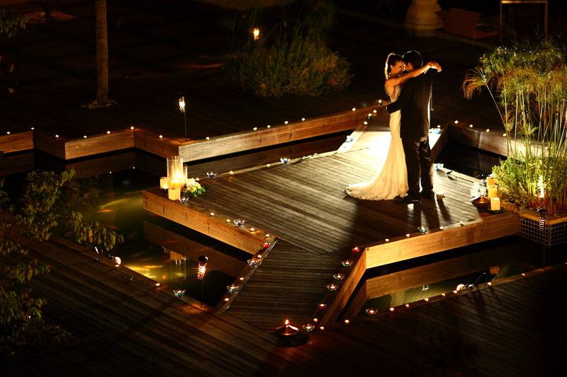 Lantern Courtyard Wedding