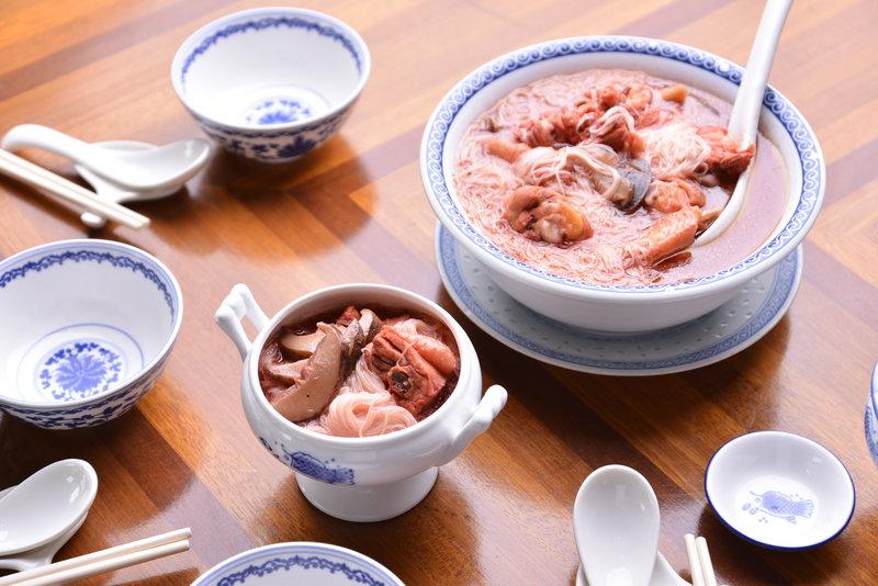 Red Rice Wine Mee Sua