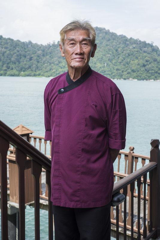 Chef Lim Fang Tat aka Uncle Lim, First Employee