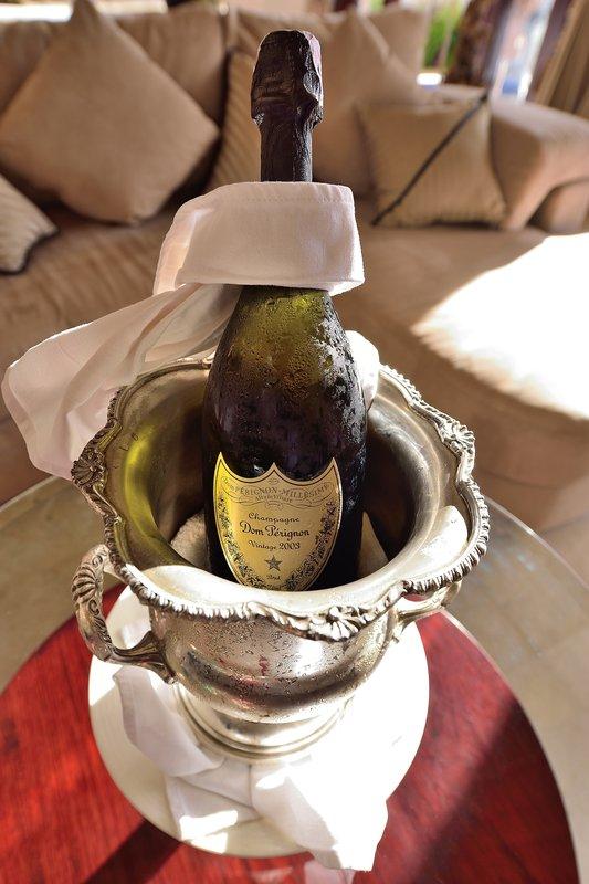 Champagne In Villa