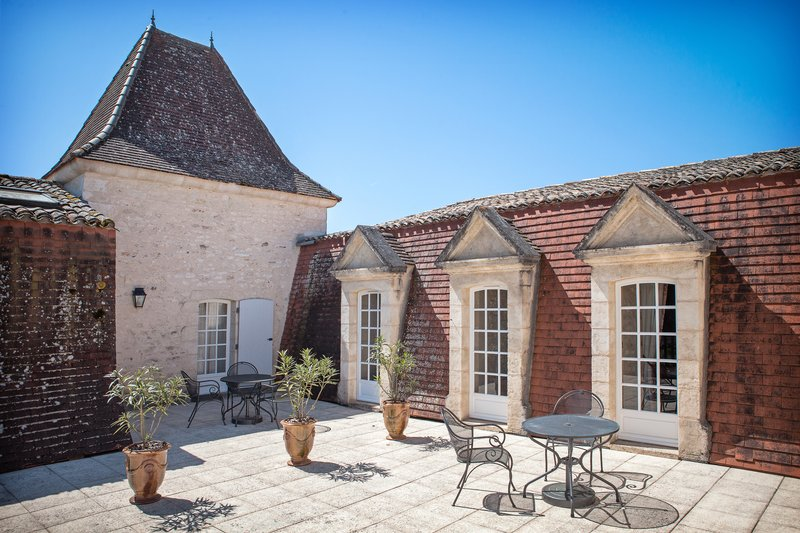 Terrasse Chambres Prestiges Chateau