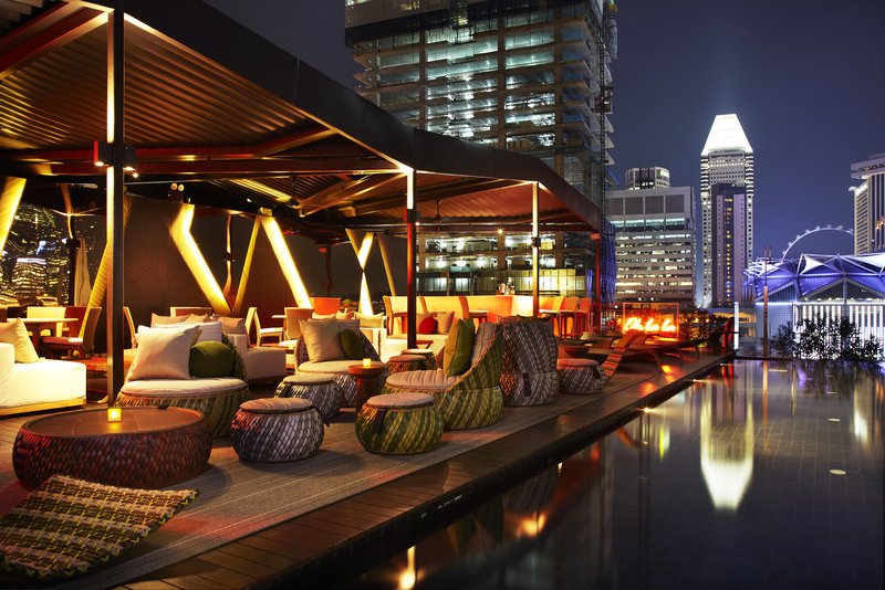 Cloud Rooftop Infinity Pool and Bar