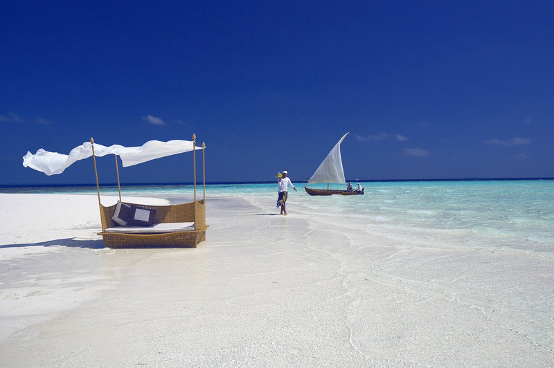 The Sandbank of Baros Maldives