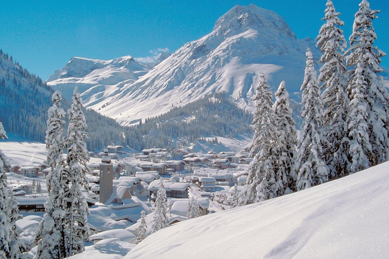 The Famous Alberg Area of the Austrian Alps