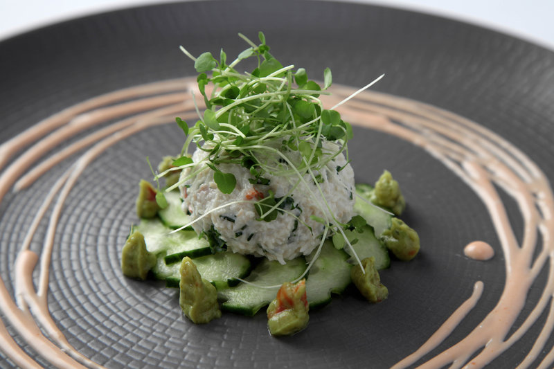 Whitby Crab Salad