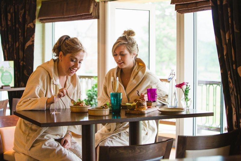Robe Dining in the Spa Brasserie