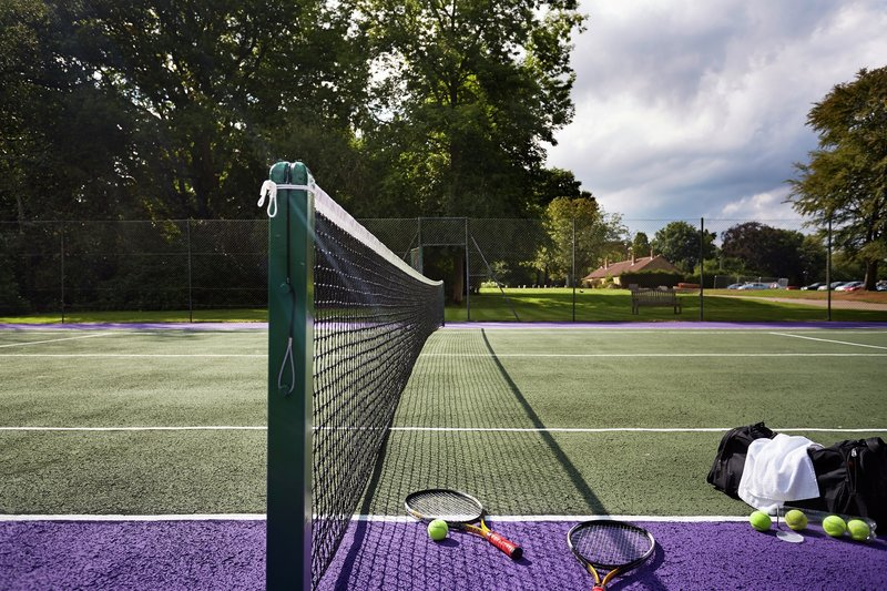 Alexander House Tennis Court
